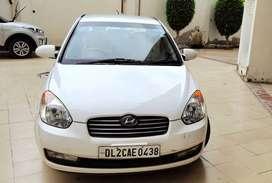 Hyundai Verna Petrol - 2008 White Colour