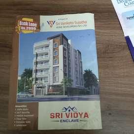 Sri Vidya Enclave low price  flats for sale location near shamirpet