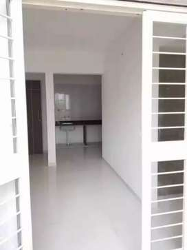 New 1BHK Semi furnished flat for sale in Porwal road Dhanori.