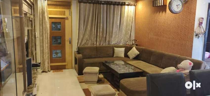 Vaishali 3 Bhk Flat Ultra Furnished Tagore Nagar Multistory Building 0