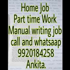 Hand writing job good opportunity