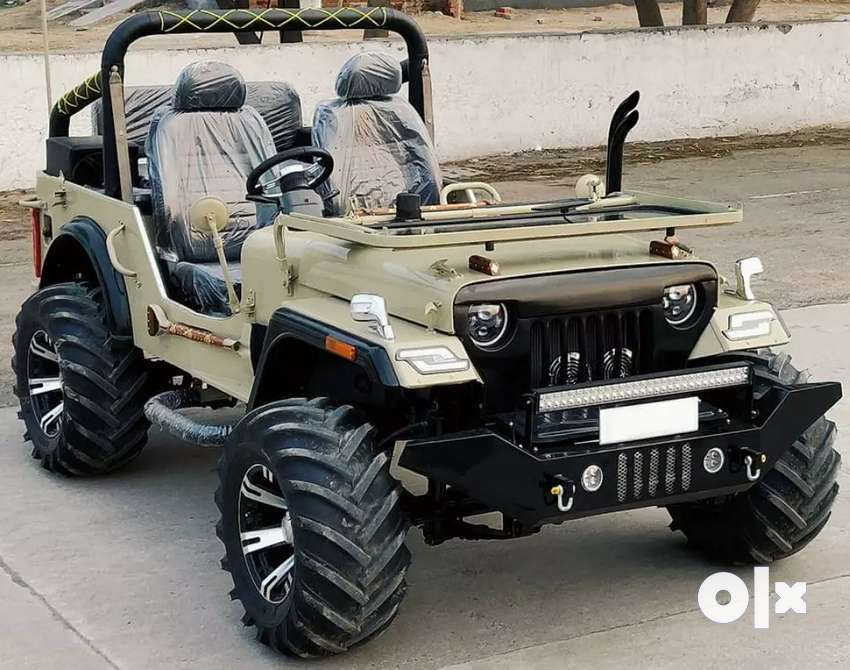 Modified open Jeep Thar 0