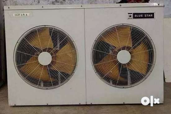 Bluestar 11 ton ducted ac,single compressor,less used,excellent coolin 0