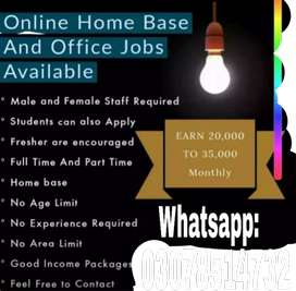 Male and female staff required for online working