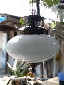 Lampu klasik antik gantung hias perumahan lawasan jawa joglo