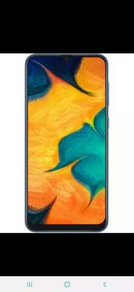 samsung a30 very good candition 2 month old