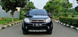 Daihatsu Terios TX AT 2010 hitam 3 baris km 70 rb asli DP 5 JT
