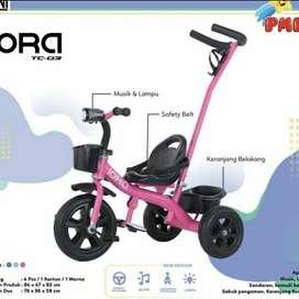 Sepeda Anak Roda Tiga Model Classic Simple Iora TC03 TC-03 TC 03 PMB