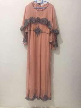 dress mutiara cantik