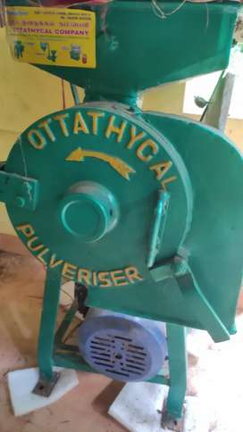 Flour Mill AUTOMATIC 2hp Single Phase SS Pulverizer (green)