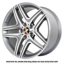 velg mobil mercy ring 18 ROSTOCK ML 206 HSR R18X85/95 H5X112 ET45 GMF