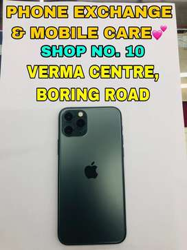 IPhone 11 Pro (64GB) Midnight Green 4 Months Old Available here