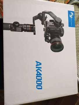 FeiyuTech Ak4000 camera stabilizer 3-axis handheld gimbal
