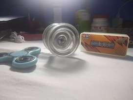 Yoyo BladeMaster + Fidget Spinner Glow In The Dark