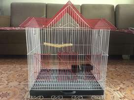 Hut Shape Birds Cage