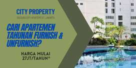 Apartemen Tahunan Bassura Studio Unfurnish Lt.15 Tower E, 04CITY1024