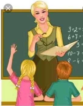 Need Female Private Tutor for LKG student at Salt Lake