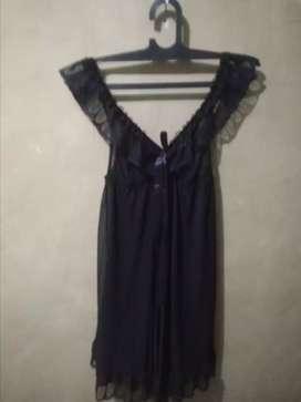 Prelove lingerie hitam