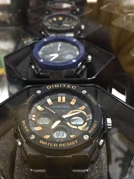Digitec terbaru original dualtime dark yellow terbatas