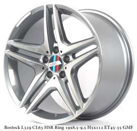 VELG MOBIL MERCY,VW ROSTOCK CL63 L329 HSR R19X85 95 H5X112 ET45 35 GMF