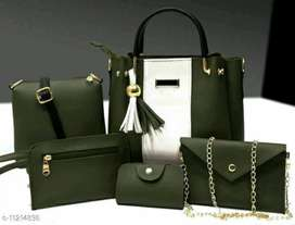Hand Bag combo at low rate...CASH ON DELIVERY AVAILABLE.