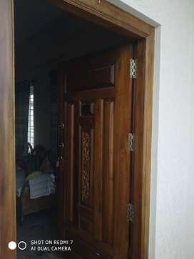 2bhk semi furnished flat syndicate bank murugeshpallya for more inform