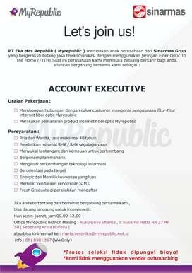 Account Executive MyRepublic