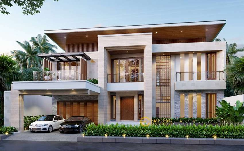 Jasa Arsitek Batam Desain Rumah 645.5m2 0