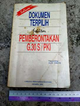 Buku Tentang Dokumen Pemberontakan G.30 S / PKI