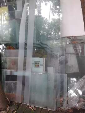 #Glass partition any size # new condition #