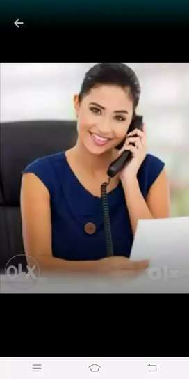 Urgently required girl for office assistant