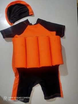 Baju renang ada pelampung'y for anak(2-4 th) renang anti tenggelam