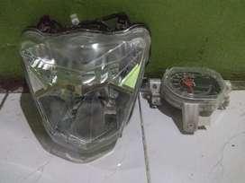 Reflektor lampu Depan +Speedo Beat Fi