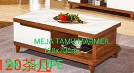 Meja Tamu Import - Daun Meja Marmer - harga Ekonomis dan terjangkau
