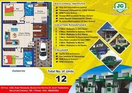 2Bhk Individual House @ Guduvanchery