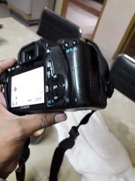 Canon. 550D kiss x4 with 50mm lens