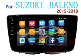 NEW Baleno swift stereo 9 inch Android 2.5D Glass HD Touchscreen GPS.