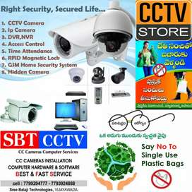 CCTV installation/services