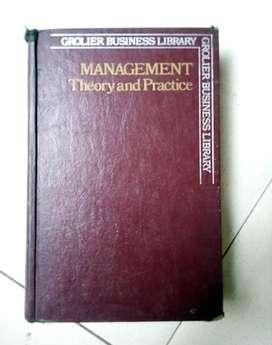 Buku Management Theory And Practise Oleh Ernest Dale