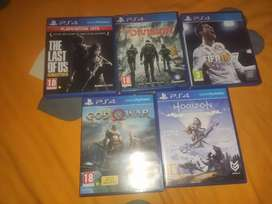 PS4 GAME CDs FOR SALE. VERY CHEAP ONLY FOR QUARENTINE