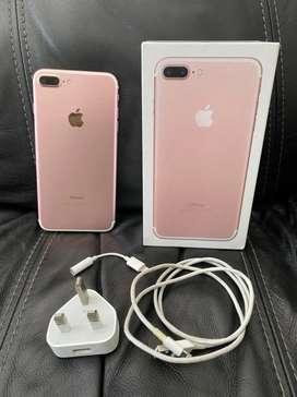 Iphone 7 plus 256gb x inter fullset ori pake sendiri