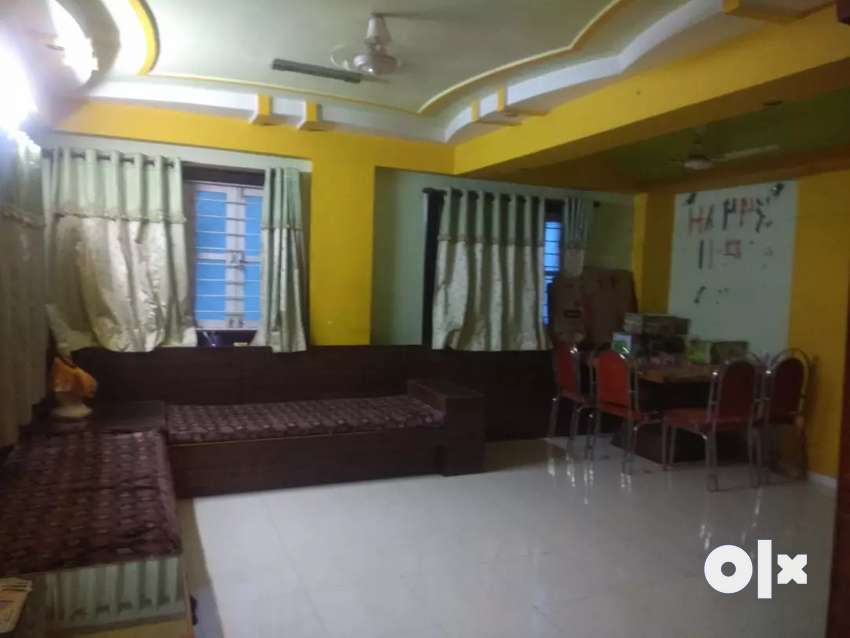 Furnished flat for rent in Satadhar 0