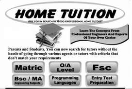 Qualified Home tutuor Available