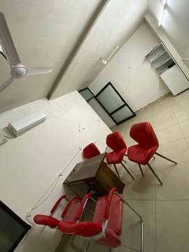 250sqfeet furnish office tuition market model town extension