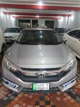 Honda Civic 21 installmints paid 60000 per month Bank Leased