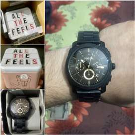 Fossil Analog watch in mint condition for 6500₹.