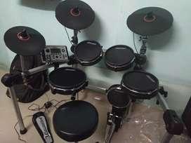 Carlsbro csd500 mesh electric drum kit, rhythm pads,drum set,