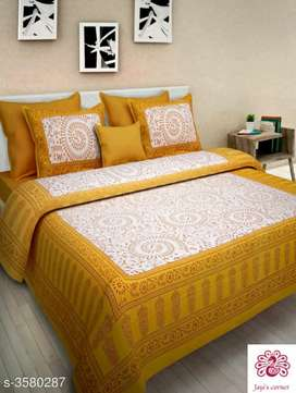 Bedsheets with pillows