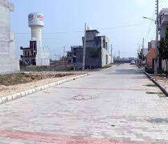 100 Gaj plot for sale in Secured and Gated Society at Dera Bassi