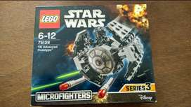 LEGO Star Wars TIE Advanced Prototype Series 3 kit